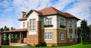 Фасадные работы Симферополь цена от 268 руб. м2